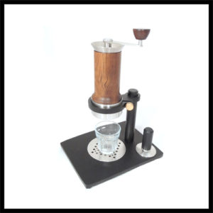 Aram Espresso Maker + Stahlständer