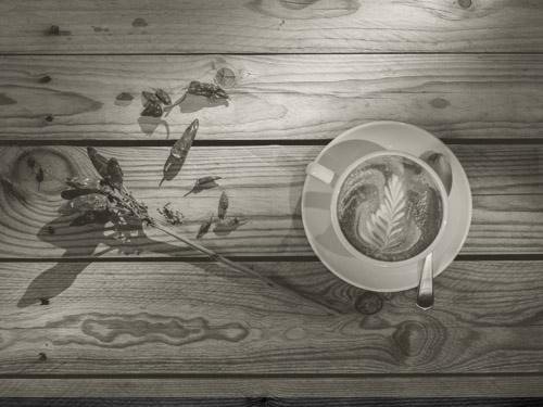 Latte Art im Cafferino