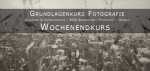 Fotografie Grundlagenkurs
